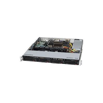 Super Micro SYS 5017R MTF Supermicro SuperServer 5017R MTF Server rack mountable 1U 1 way RAM 0 MB SATA hot swap 3.5 no HDD MGA G200eW GigE