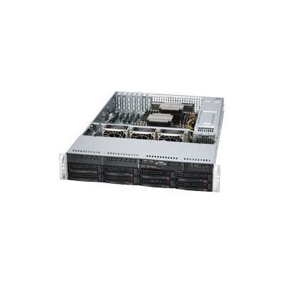 Super Micro SYS 6027R TRF Supermicro SuperServer 6027R TRF Server rack mountable 2U 2 way RAM 0 MB SATA hot swap 3.5 no HDD Matrox G200 GigE