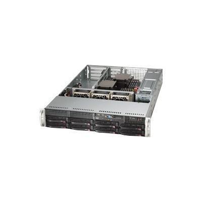 Super Micro SYS-6027R-WRF Supermicro SuperServer 6027R-WRF - Server - rack-mountable - 2U - 2-way - RAM 0 MB - SATA - hot-swap 3.5 - no HDD - Matrox G200 - GigE