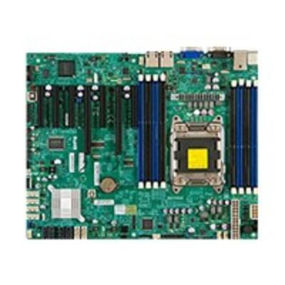 Super Micro MBD-X9SRL-F-B SUPERMICRO X9SRL-F - Motherboard - ATX - LGA2011 Socket - C602 - 2 x Gigabit LAN - onboard graphics