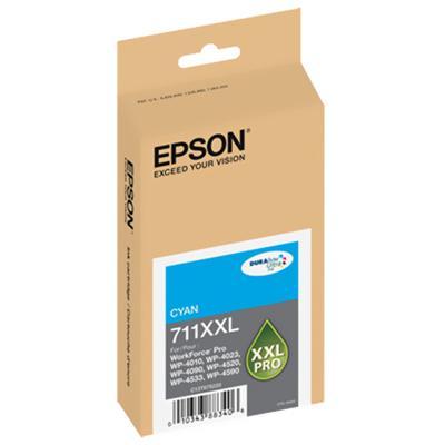 Epson T711XXL220 711XXL - Cyan - original - ink cartridge - for WorkForce Pro WP-4010  WP-4023  WP-4090  WP-4520  WP-4533  WP-4590