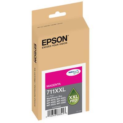 Epson T711XXL320 711XXL - Magenta - original - ink cartridge - for WorkForce Pro WP-4010  WP-4023  WP-4090  WP-4520  WP-4533  WP-4590