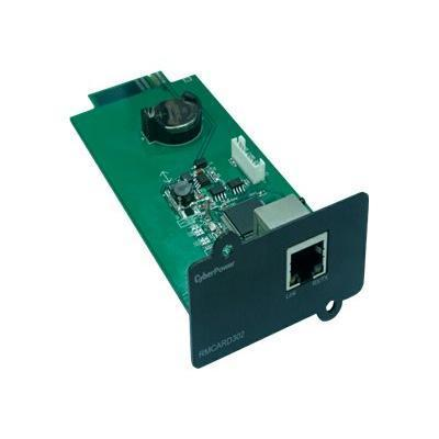 Cyberpower Rmcard302 Rmcard302 - Remote Management Adapter - 10/100 Ethernet - For Smart App Online Ol10000  Ol6000  Ol8000
