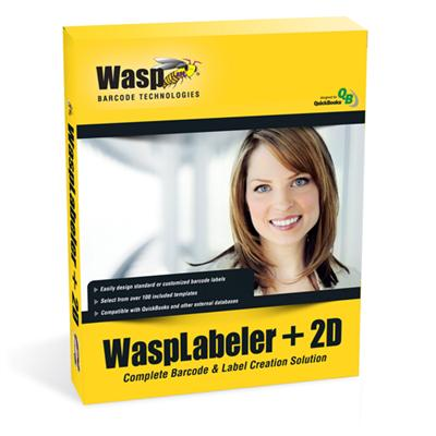 Wasp 633808105273 WaspLabeler +2D (5 User Licenses)