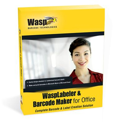 Wasp 633808105372 WaspLabeler & Barcode Maker for Office (10 User Licenses)