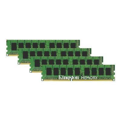Kingston KTH-PL313EK4/32G DDR3 - 32 GB: 4 x 8 GB - DIMM 240-pin - 1333 MHz / PC3-10600 - unbuffered - ECC