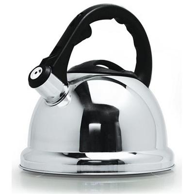 Primula Products PSK-6630 3Qt Safe-T Whistling Tea Kettle - Stainless Steel
