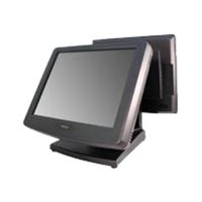 Posiflex Business Machines KS7715U25D1F Fan-Free KS7715 - All-in-one - 1 x Core i5 2510E / 2.5 GHz - RAM 4 GB - HDD 160 GB - HD Graphics 3000 - GigE - Win 7 Pro