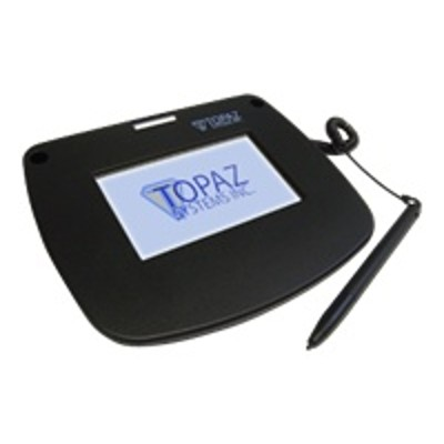 Topaz System T-LBK43LC-HSB-R SigLiteColor 4.3 T-LBK43LC-HSB-R - Signature terminal w/ LCD display - 4.6 x 3.4 in - wired - USB