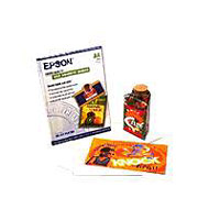 Epson S041106 10 Sheet 8.3in. x11.7in. A4 Photo Quality Self Adhesive-sheet