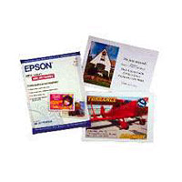 Epson S041054 4.1 x 5.8 Photo Quality Inkjet Cards - 50 Sheets
