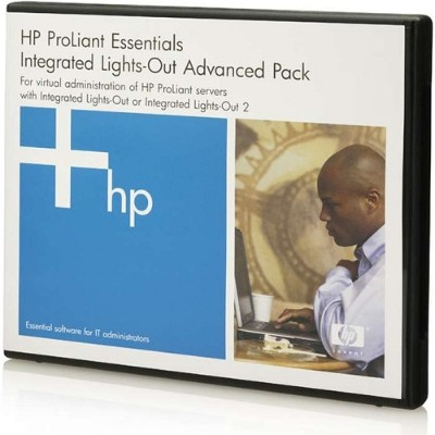 Hewlett Packard Enterprise BD505A iLO Advanced 1 Server License with 3-year 24x7 Technical Support and Updates