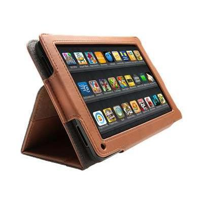 Kensington K39590WW Protective Folio & Stand - Protective case for tablet - brown - for Amazon Kindle Fire