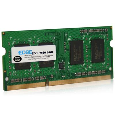 Edge Memory PE234454 8GB (1X8GB) PC312800 204 Pin DDR3 So Di