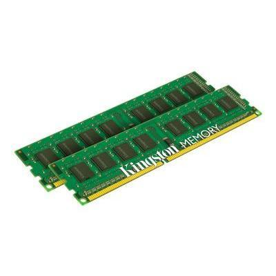 Kingston KVR13N9K2/16 ValueRAM - DDR3 - 16 GB: 2 x 8 GB - DIMM 240-pin - 1333 MHz / PC3-10600 - CL9 - 1.5 V - unbuffered - non-ECC