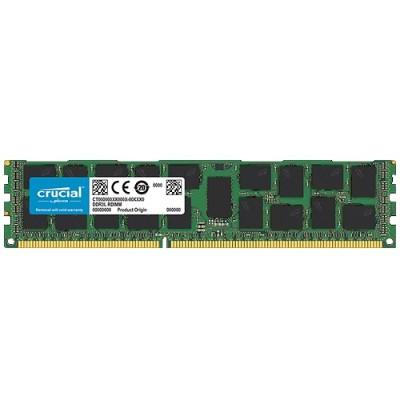 Crucial CT16G3ERSLD4160B 16GB Single DDR3L 1600 MT/s (PC3-12800) DR x4 RDIMM 240-Pin Server Memory