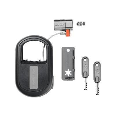 Kensington K64955WW ClickSafe Keyed Retractable Laptop Lock - Security cable lock - black - 4 ft