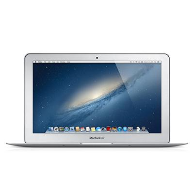 11.6 MacBook Air dual-core Intel Core i5 1.7GHz (3rd generation Ivy Bridge)  4GB RAM  64GB Flash Storage  Intel HD Graphics 4000  5 Hour Battery Life  802.11n W