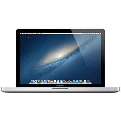 15.4 MacBook Pro quad-core Intel Core i7 2.3GHz  4GB RAM  500GB 5400-rpm hard drive  Intel HD Graphics 4000  Ships with Mountain Lion