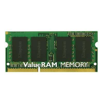 Kingston KVR16S11S8/4 ValueRAM - DDR3 - 4 GB - SO-DIMM 204-pin - 1600 MHz / PC3-12800 - CL11 - 1.5 V - unbuffered - non-ECC