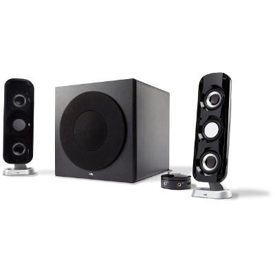 Cyber Acoustics CA-3908 92W Peak Power - Speaker System with Control Pod