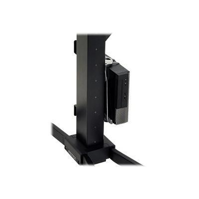 Ergotron 97-666 WorkFit-PD CPU Holder Kit - Mounting component (CPU holder) for personal computer - steel