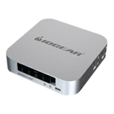 Iogear GCS1924 4-port DualView Mini DisplayPort Thunderbolt KVMP Switch with Peripheral Sharing