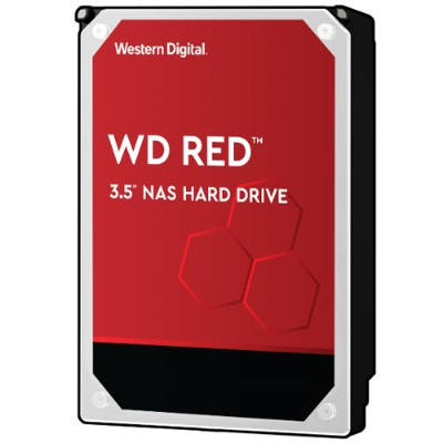 WD WD10EFRX Red 1TB NAS Desktop Hard Disk Drive - Intellipower SATA 6 Gb/s 64MB Cache 3.5 Inch
