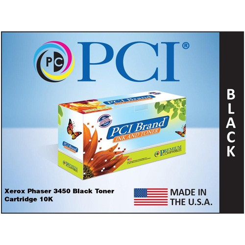 Premium Compatibles 106R00688-PCI Phaser 3450 106R688 10000 Pages Black Toner Cartridge. for Tektronix Phaser Printers