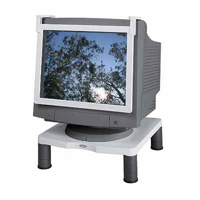 Fellowes 91712 Monitor Riser Standard - Display stand - white