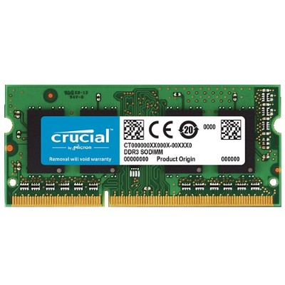 Crucial CT2G3S1339M 2GB DDR3 1333 Mt/S PC3-10600 Cl9 SODIMM