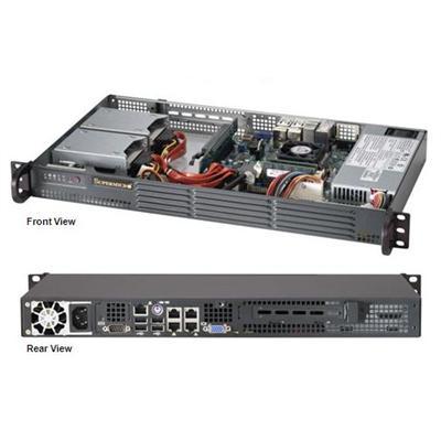 Super Micro SYS-5017P-TLN4F SuperServer 5017P-TLN4F with 3rd Generation Intel Core i7 Mobile ECC processor (Black)