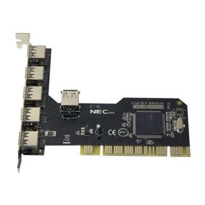 Syba Multimedia SD-NECU2-5E1I Sd-Necu2-5E1I PCI Card USB 2.0