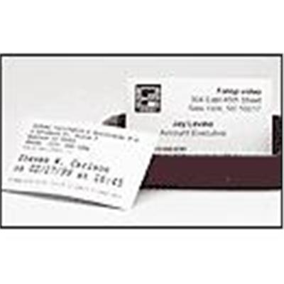 Dymo 30374 White Appointment/ Business Cards - 300/roll  1 roll/box