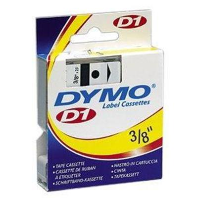3/ 8in. D1 Clear Plastic Tape