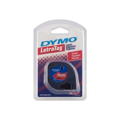 Dymo 91333 Labels - red - Roll (0.47 in x 13.1 ft) - 1 roll(s)
