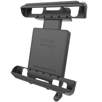 RAM Mounts RAM-HOL-TABL8U Univ Tab Lock 10in Tab Locking Cradle