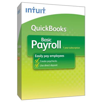 QuickBooks Basic Payroll 2013 - complete package