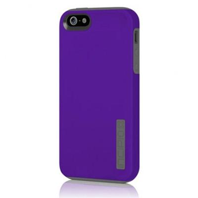 Dual PRO for iPhone 5 - Indigo Violet / Charcoal Gray