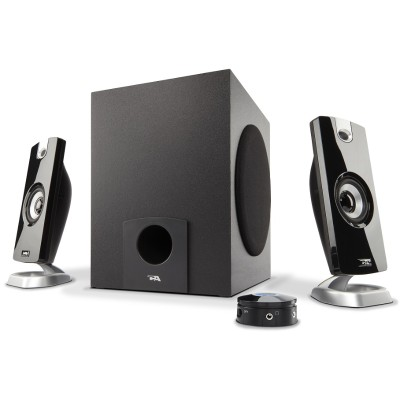 Cyber Acoustics CA-3090 18W Peak Power - Speaker System with Control Pod