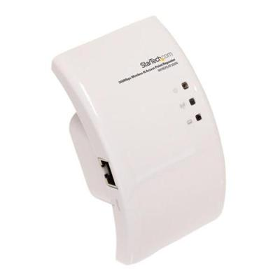 StarTech.com WFREPEAT300N WI-FI WIRELESS RANGE EXTENDER – 300 MBPS 802.11 B/G/N ACCESS POINT / REPEATER / SIGNAL BOOSTER