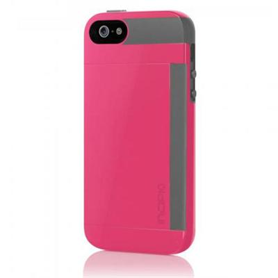 Stowaway for iPhone 5 - Pink/Gray