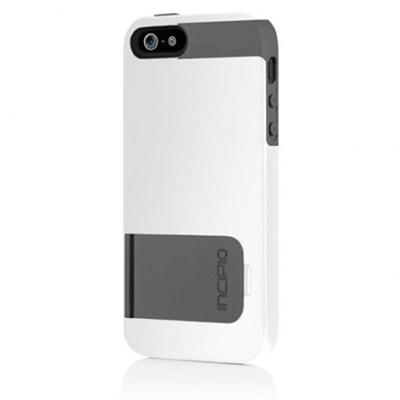 Kicksnap for iPhone 5 - Optical White / Charcoal Gray