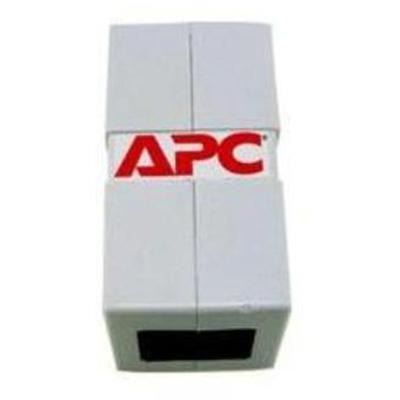 APC 47136WH CAT5 Modular In-Line Coupler  RJ-45 Female to RJ-45 Female - White