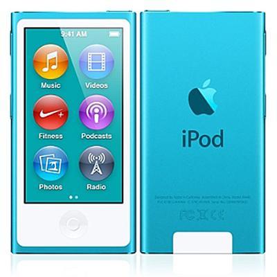 Apple MD477LL/A iPod nano 16GB Blue (7th Generation)