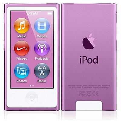 Apple MD479LL/A Bundle iPod nano 16GB Purple (7th Generation) with Engraving
