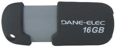 Dane-Elec DA-ZMP-16G-CA-G2-R Capless - USB flash drive - 16 GB - USB 2.0