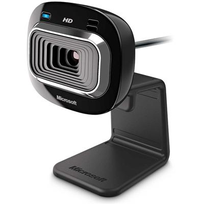 Microsoft T4H 00002 LifeCam HD 3000 for Business Web camera color 1280 x 720 audio USB 2.0