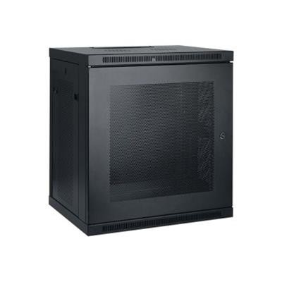 TrippLite SRW12U 12U Wall Mount Rack Enclosure Cabinet Wallmount with Doors & Sides 200lb Capacity