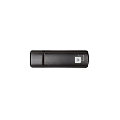 D-Link DWA-182 Wireless AC1200 DWA-182 - Network adapter - USB 2.0 - 802.11b  802.11a  802.11g  802.11n  802.11ac (draft 2.0)